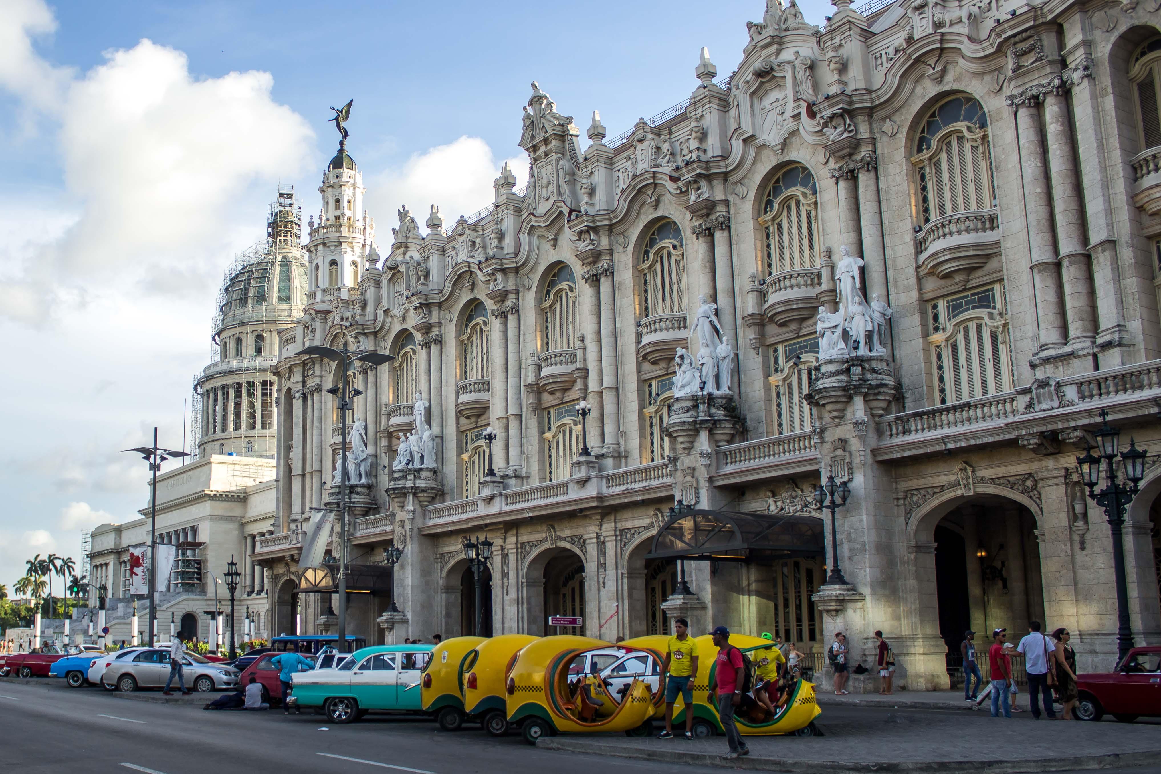 Gran Teatro de La Habana, uno de los lugares más importantes para el arte cubano.