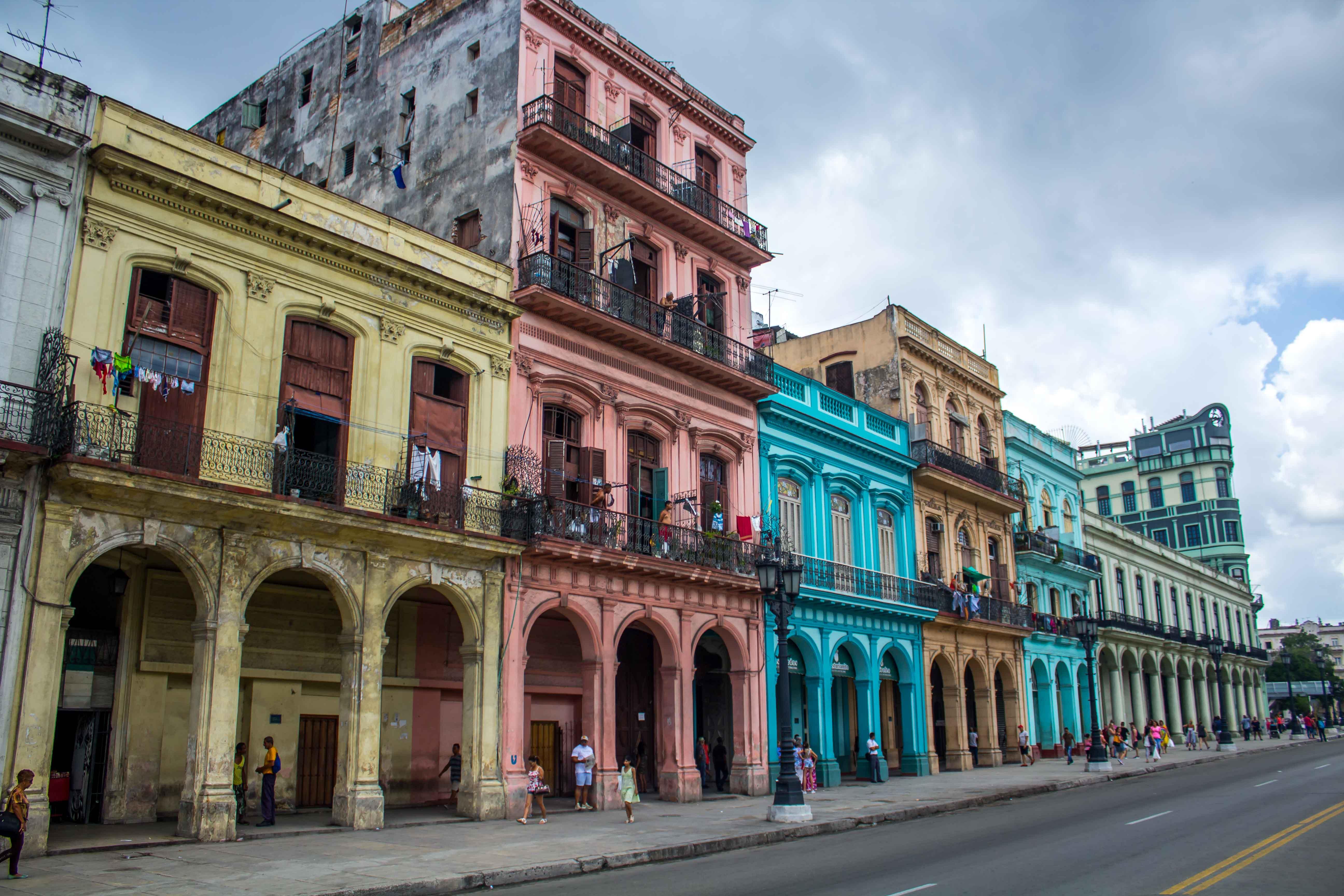 Cuba La Habana Vieja y sus colores