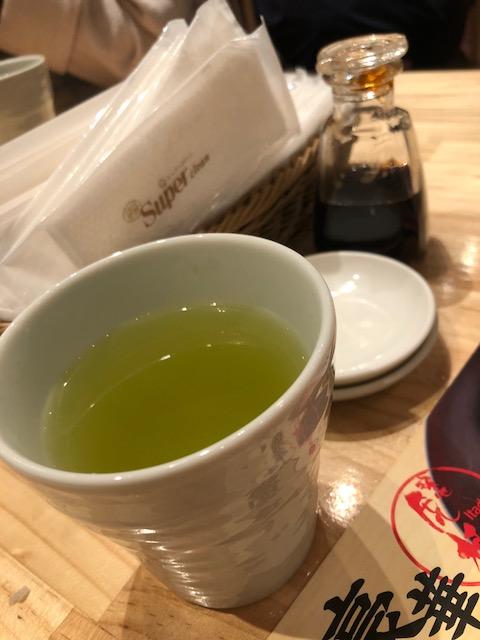 Te verde en Japón