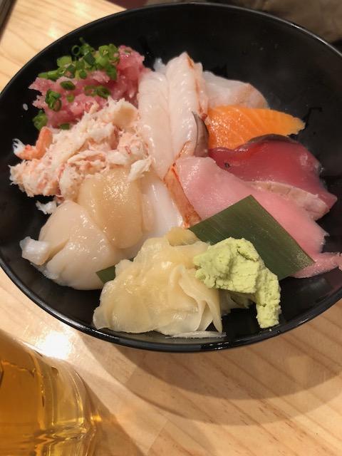 Comida restaurante Japón