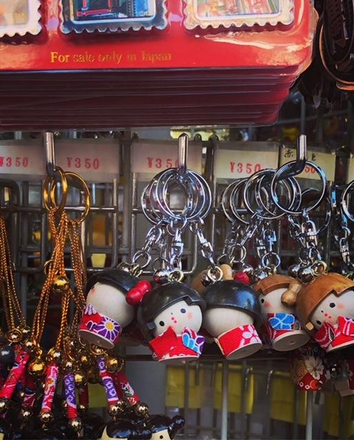 Mercado Asakusa, llaveros